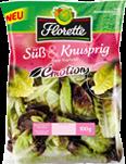 Salatpackung - süß und knusprig