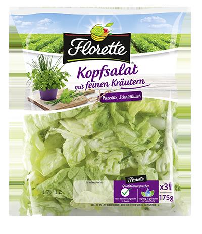KopFsalat mit Kräutern Kopie