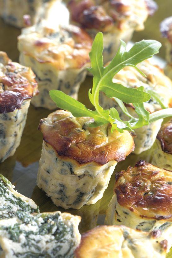 Foto - Italienische Ricotta-Muffins mit Rucola -