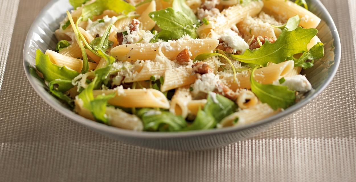 Penne-Rucola-Salat - Florette Rezept