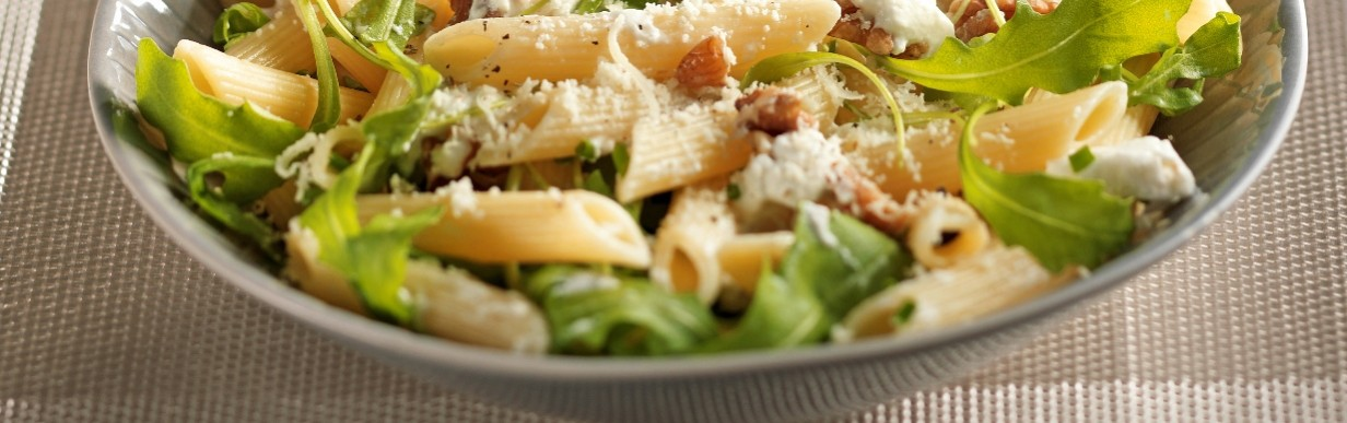 Penne-Rucola-Salat