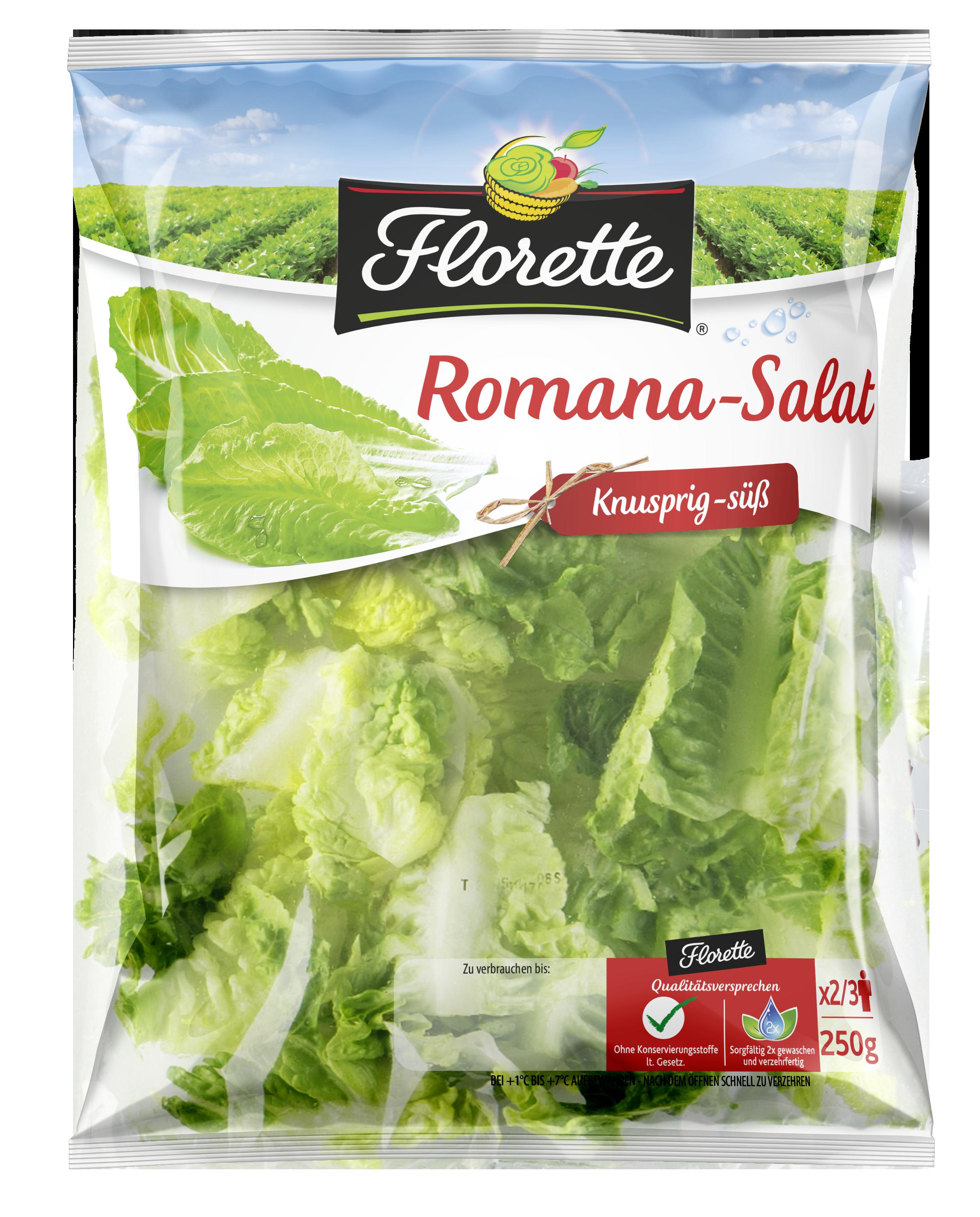 Romana-Salat von Florette