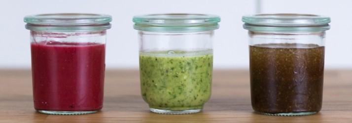 Salatdressing Dreierlei Liebelei - Florette Salat