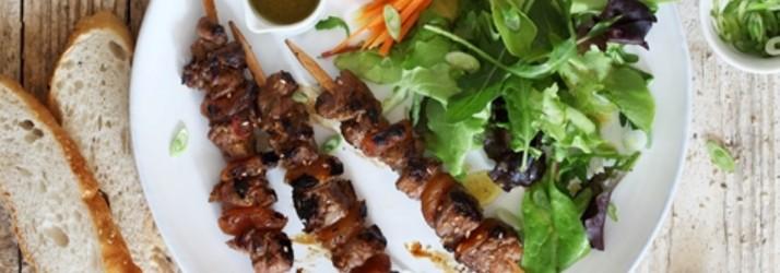 Grill Ideen zum Vatertag - Florette Salat