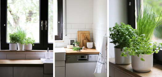 florette wohnliche Küche - Dreierlei Liebelei