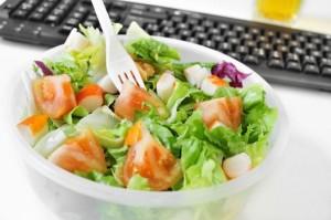 Salat Arbeitsplatz Ernährung
