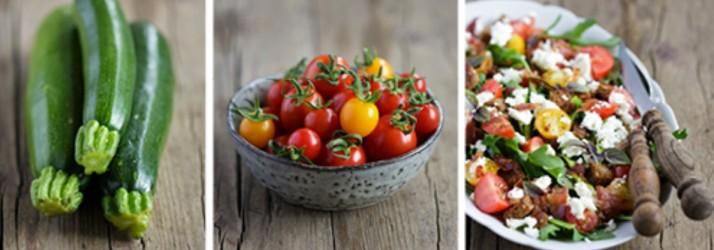 Top 5 Zutaten für einen Sommer-Salat