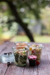 Drei Picknick-Salat-Rezepte für den Spätsommer Florette Dreilei Liebelei