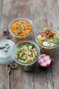 Drei Picknick-Salat-Rezepte für den Spätsommer Florette Dreierlei Liebelei