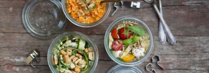 3 Picknick-Salat-Rezepte für den Spätsommer Florette Dreierlei Liebelei