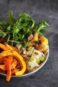 Top 5 Zutaten für einen Herbst-Salat