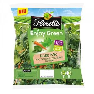 Florette Kale Mix - Baby Grünkohl, Baby Spinat, Karotten