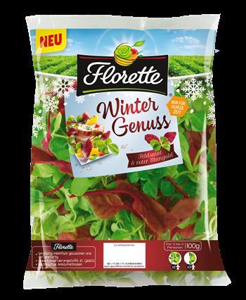 Florette Wintergenuss - Feldsalat und roter Mangold