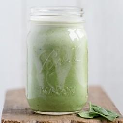 Foto - Grüner Superfood Smoothie mit Mein Vital-Salat -