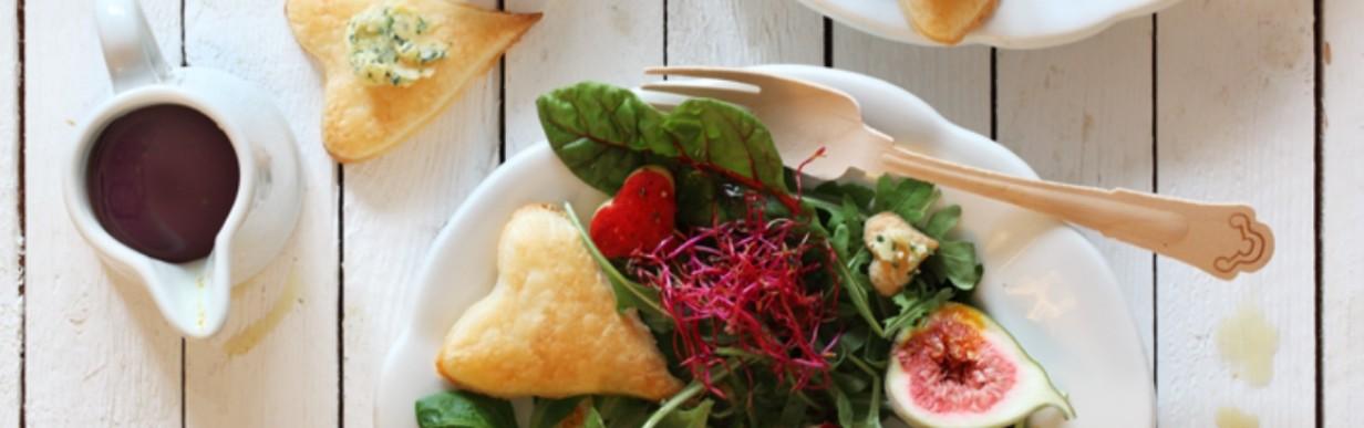 Salat zum Verlieben