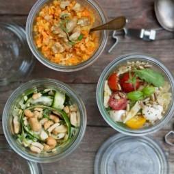 Foto - Apfel-Möhren-Salat mit Walnüssen -