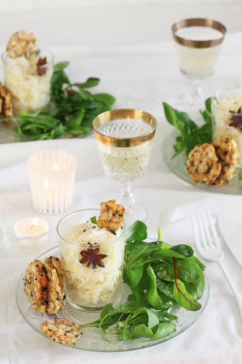 florette blog salat und semmelkn delchips f r weihnachten. Black Bedroom Furniture Sets. Home Design Ideas