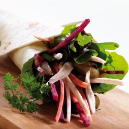 Foto - Salatige Wraps -