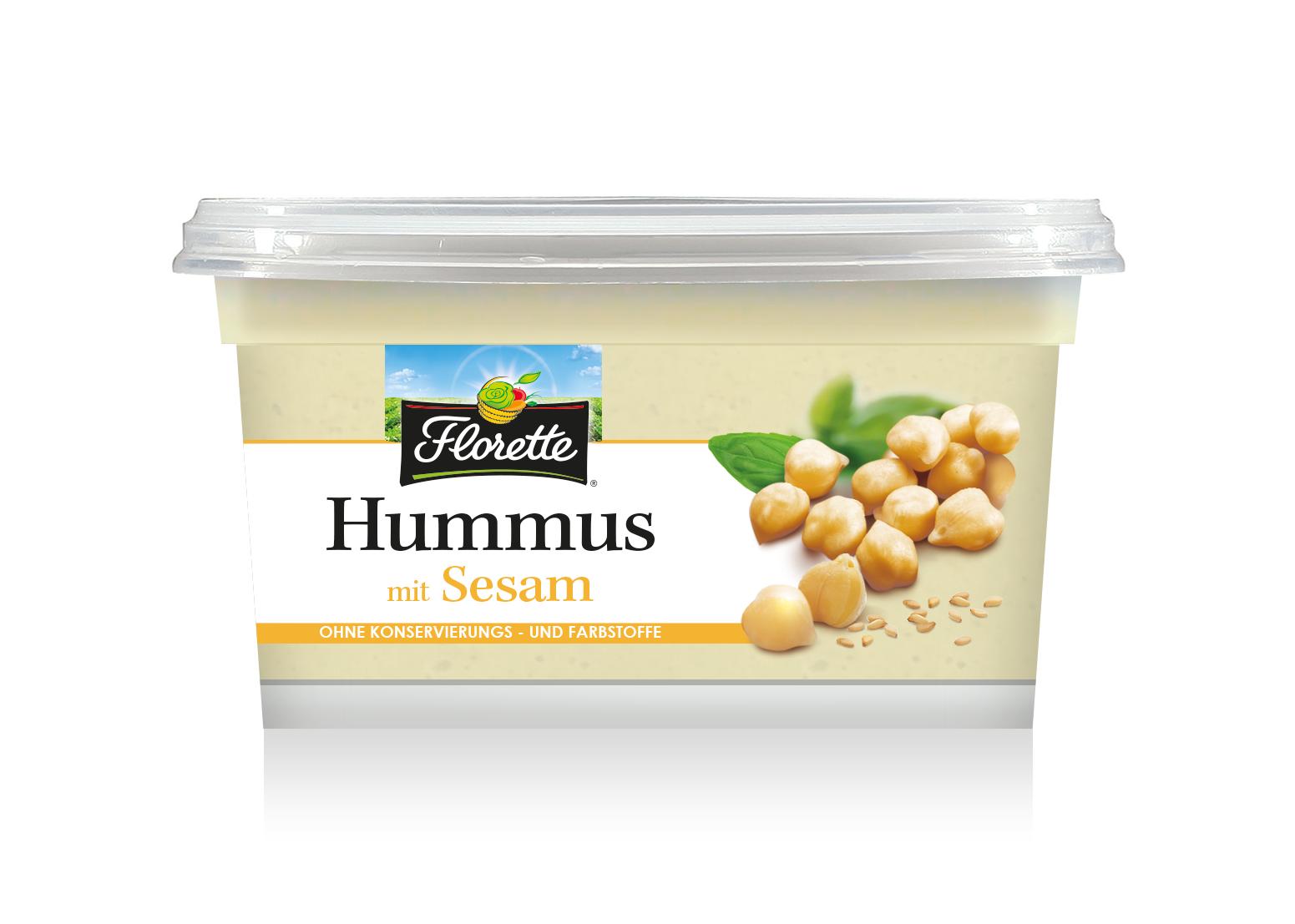 Florette - Hummus mit Sesam