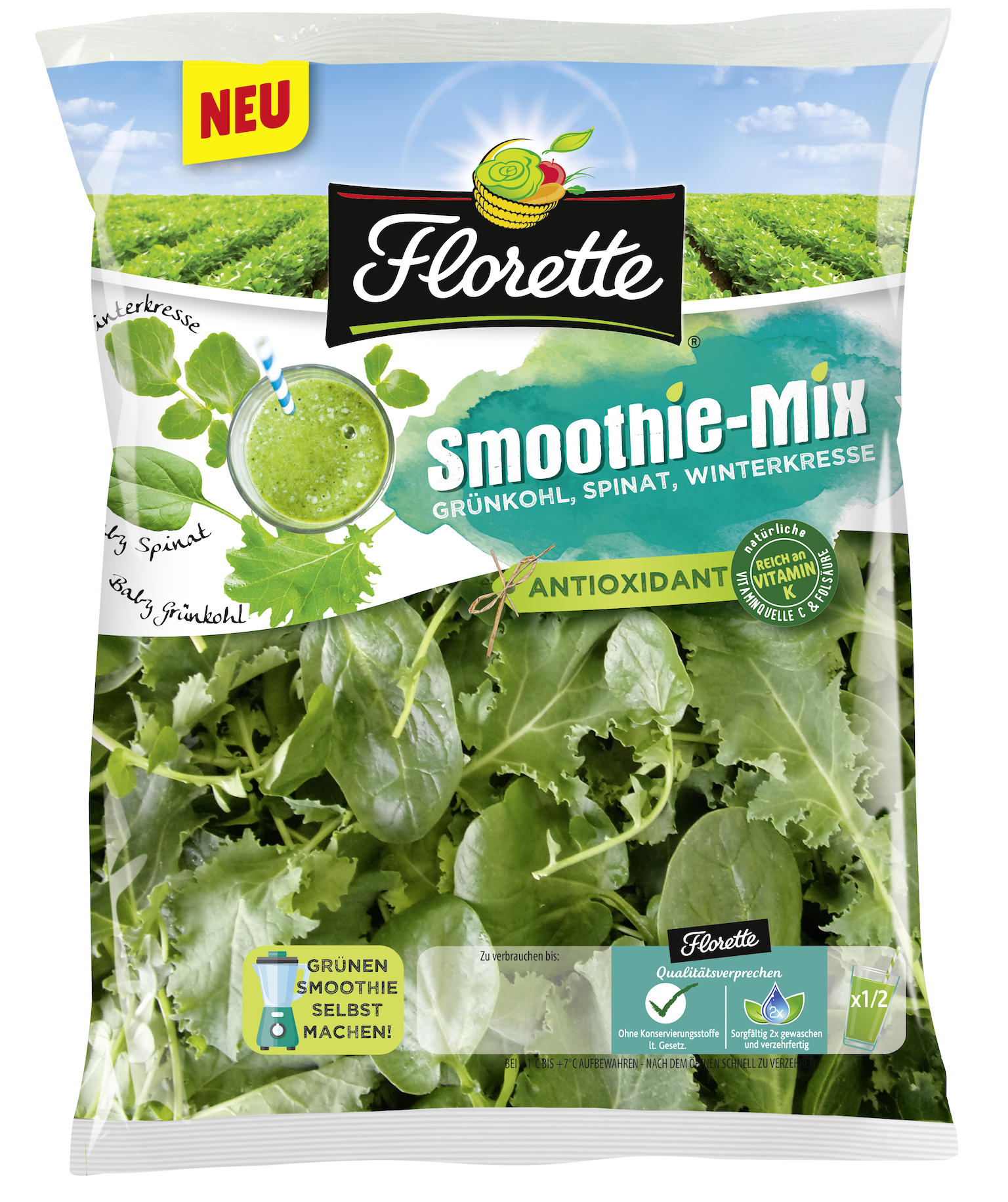 Florette-Smoothie-Mix