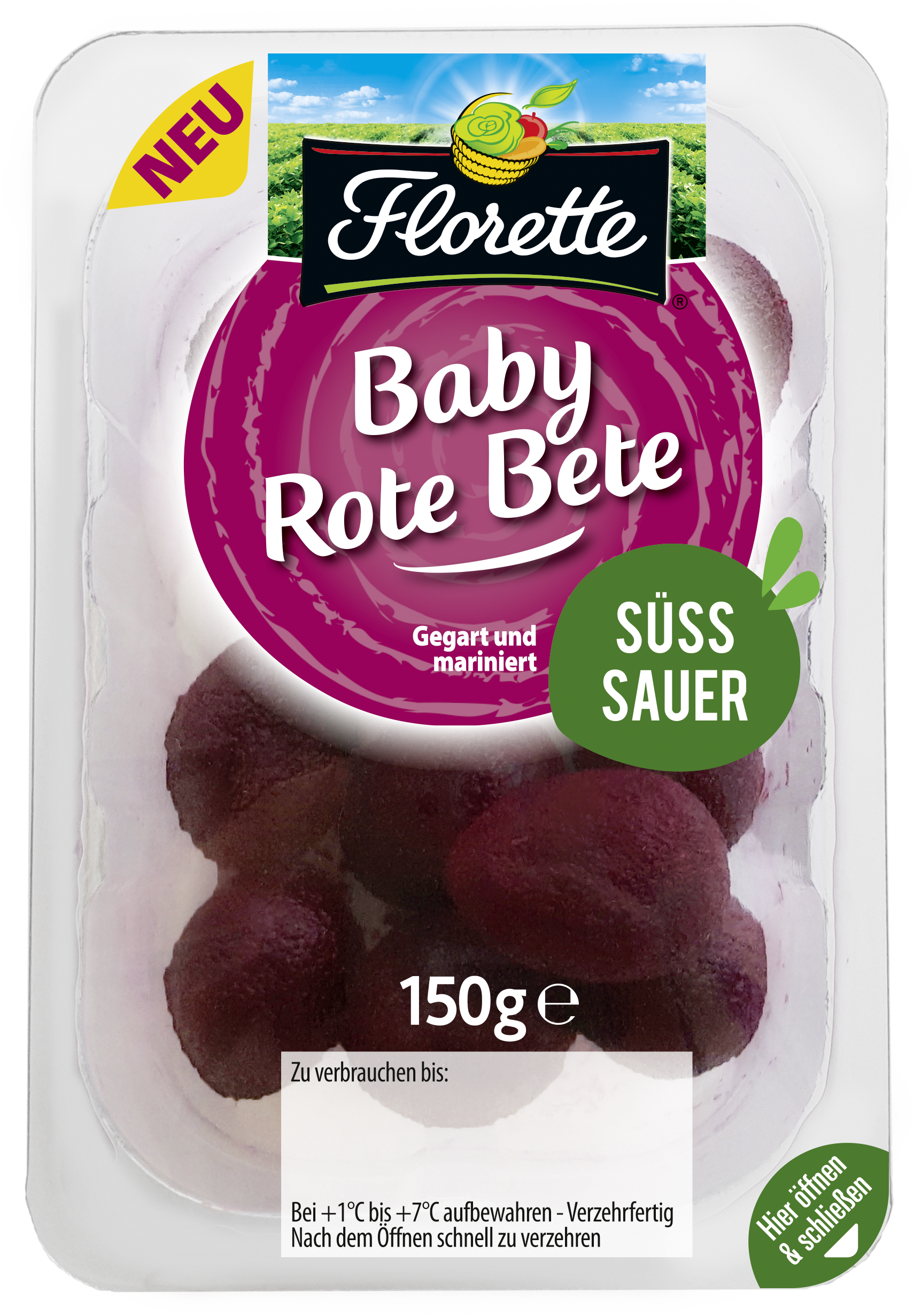 Baby Rote Bete SÜSS-SAUER HD