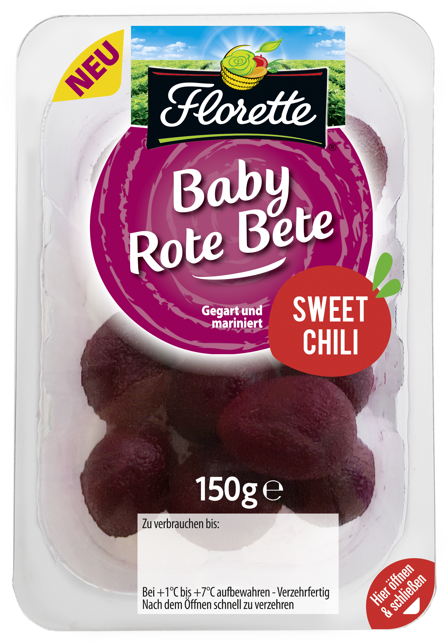 Baby Rote Bete SWEET CHILI HD