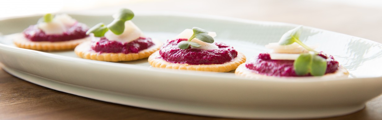 Rote Bete Crackers