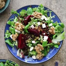 Foto - Rote Bete Linsen Salat -