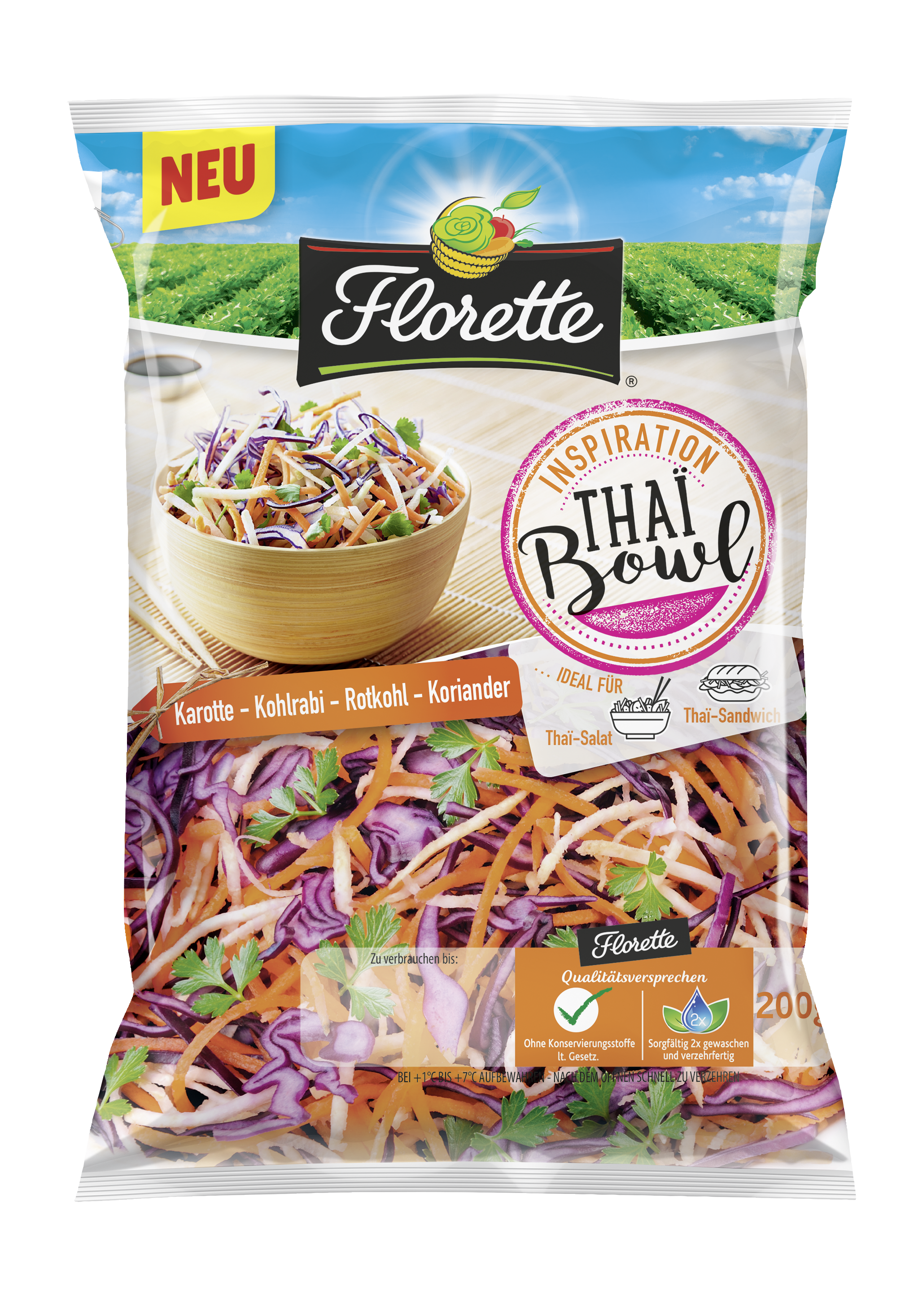 Florette THAI BOWL