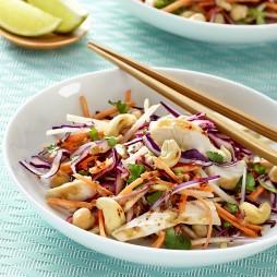 Foto - Thai-Salat mit Hähnchen und Cashewkernen -