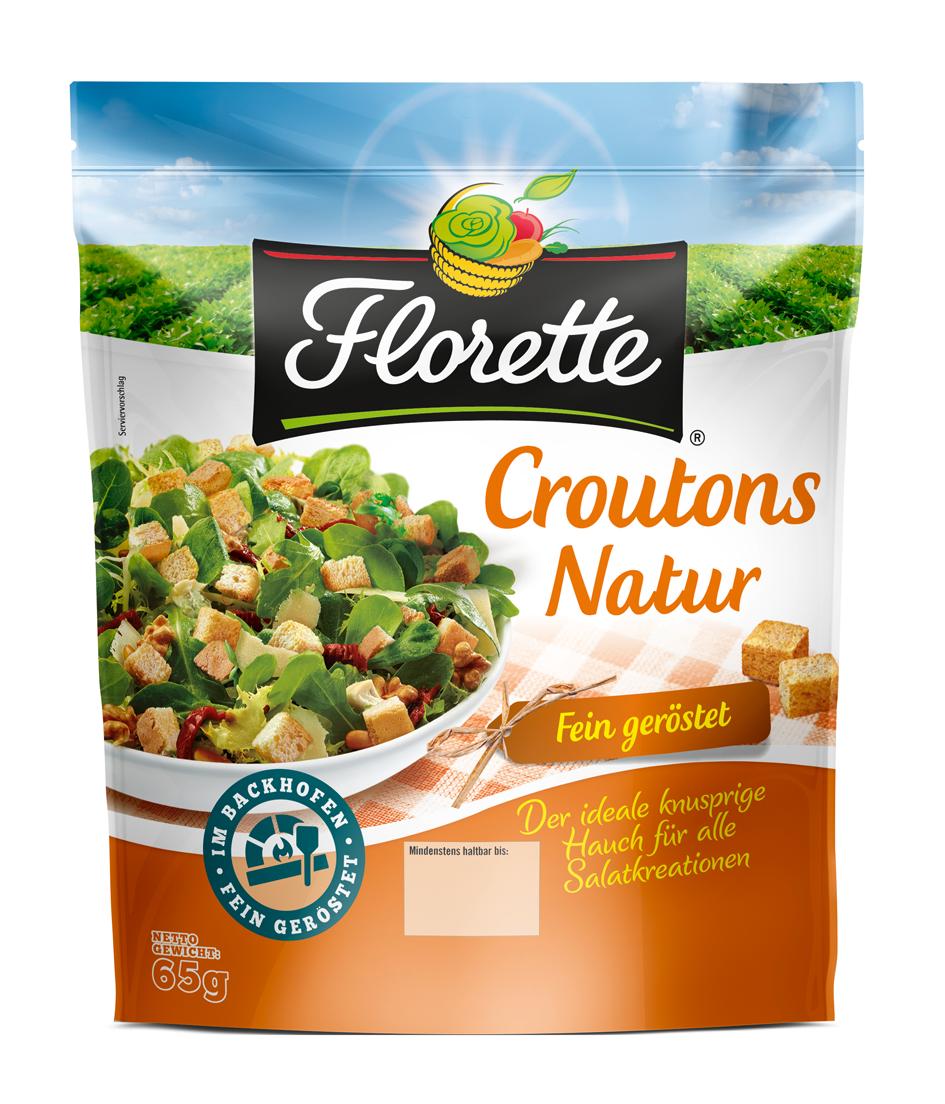 Croutons von Florette fein geröstet