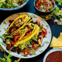 Foto - Tacos mit Guacamole -