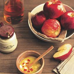 Foto - Feldsalat-Variation mit Apfeldressing -