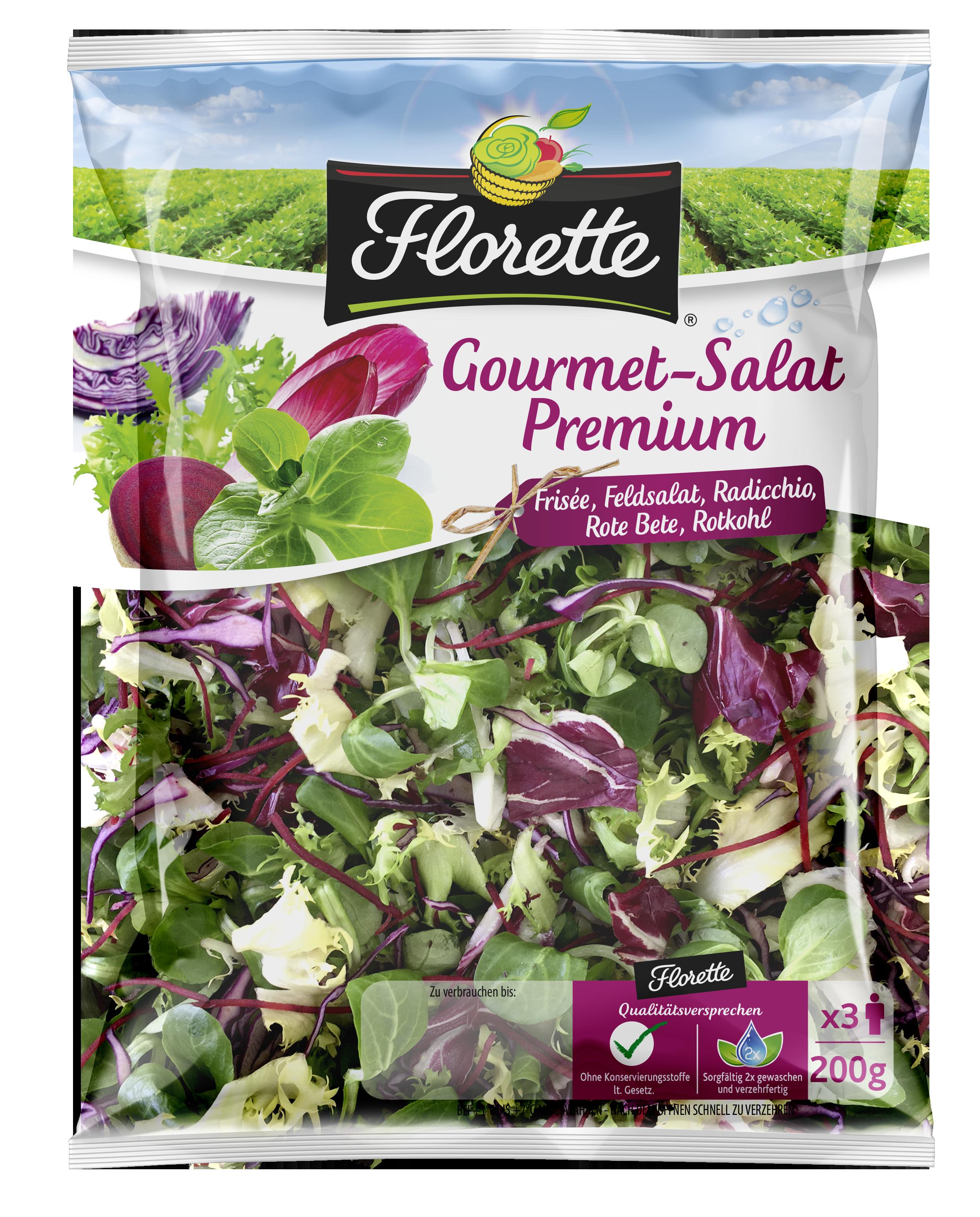 Gourmet-Salat Premium 200g-neu