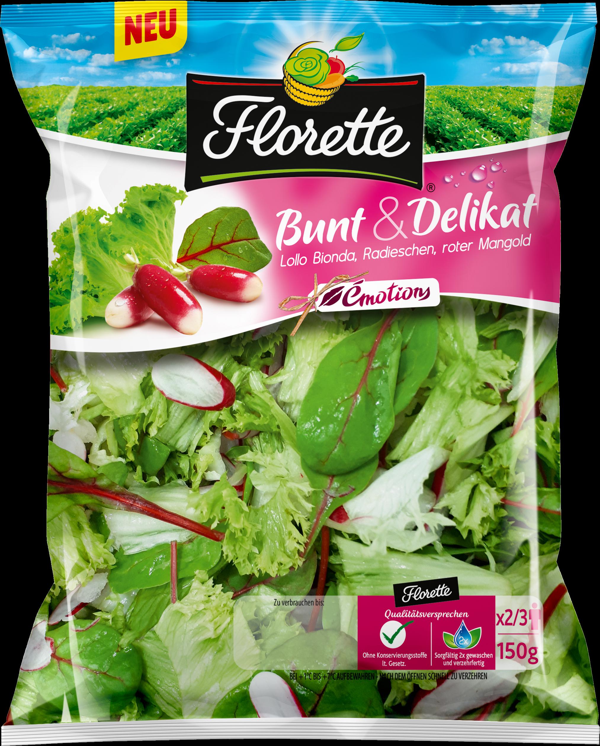 Florettes Salatmischung Émotions Bunt & Delikat