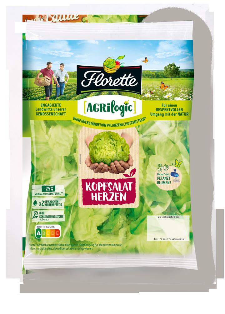 Agrilogic Kopfsalat Florette