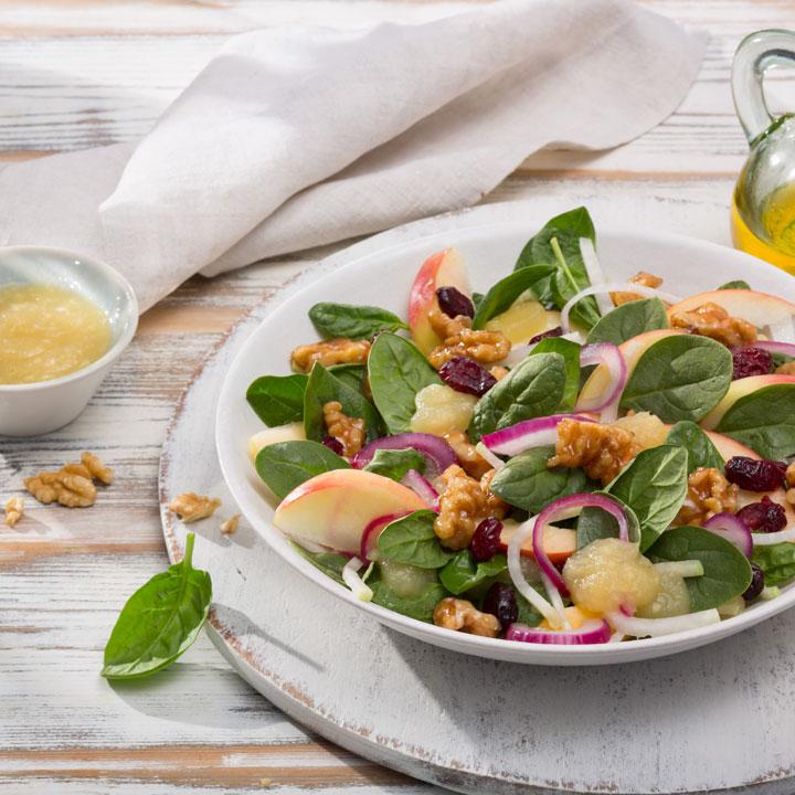 Foto - Spinat-Kohlrabi-Salat -