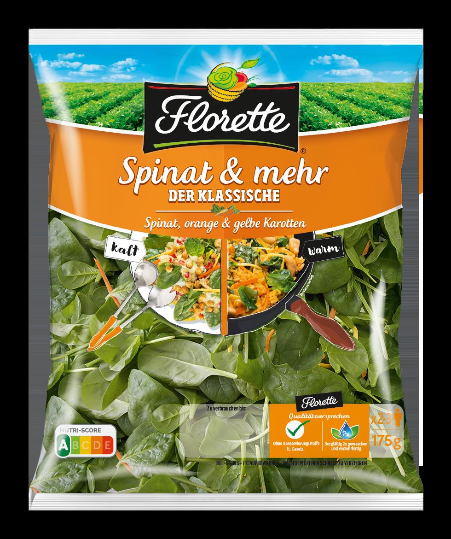 FLORETTE Spinat  &mehr Der Klassische 175g
