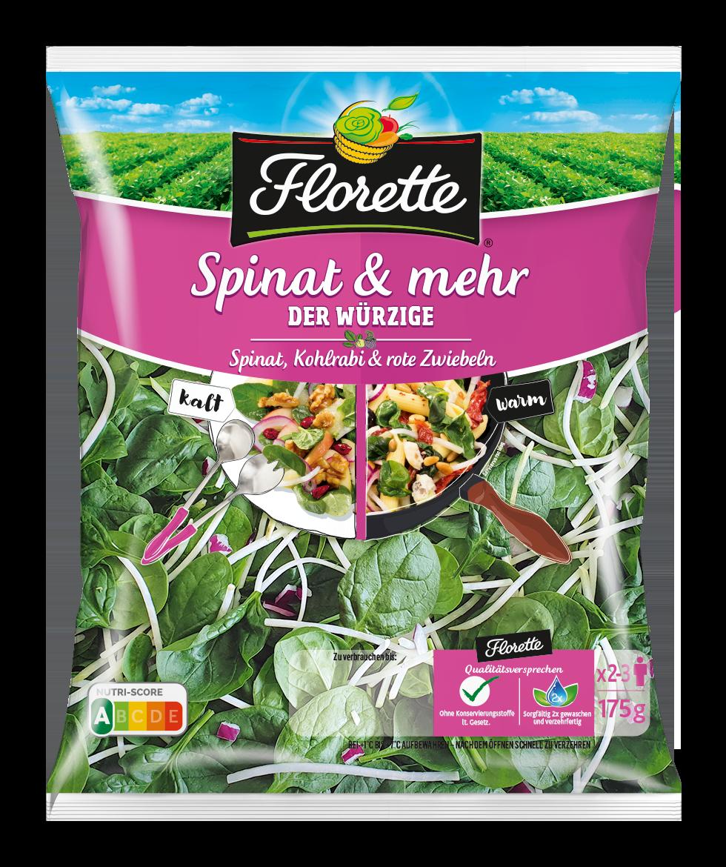FLORETTE Spinat & mehr Der Würzige 175g
