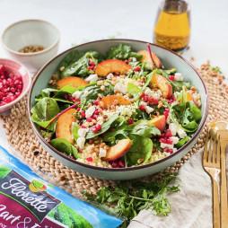 Foto - Sommersalat mit Bulgur und Pfirsich -