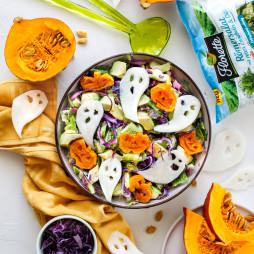 Foto - Halloween Salat -